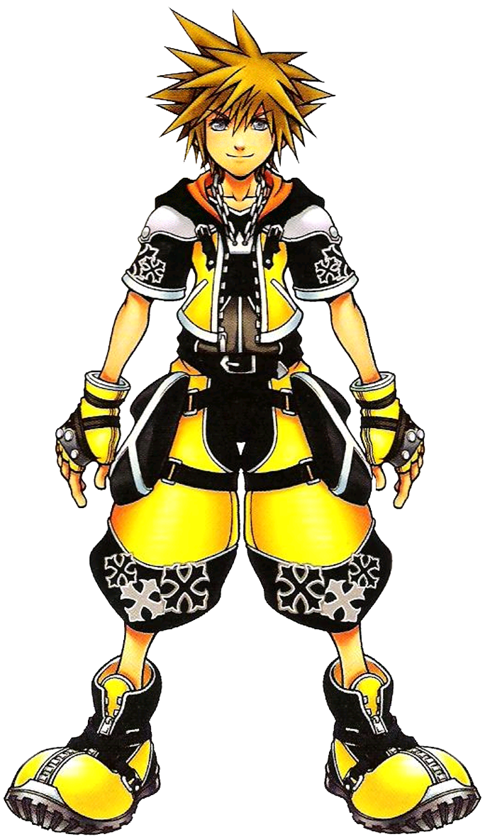Concept Art Sora Costume - DFF by DJ1NNsGR1MO1R3 on DeviantArt