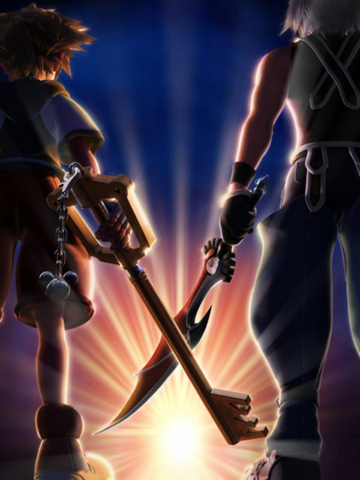 File:Promotional Artwork KH3D.png