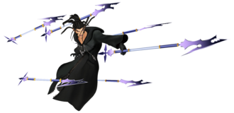 Xaldin Action Render KHII.png