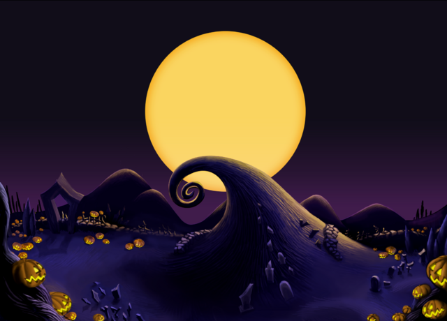File:Halloween Town- Curly Hill (Art) KH.png