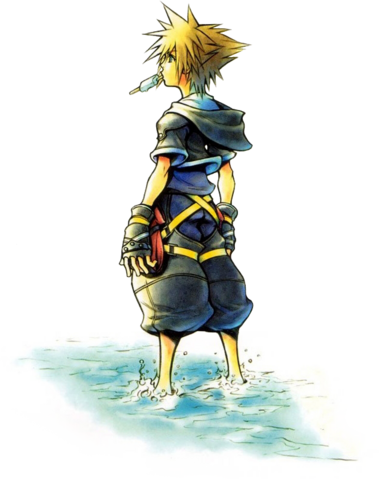 File:Sora 3 (Art) KHII.png