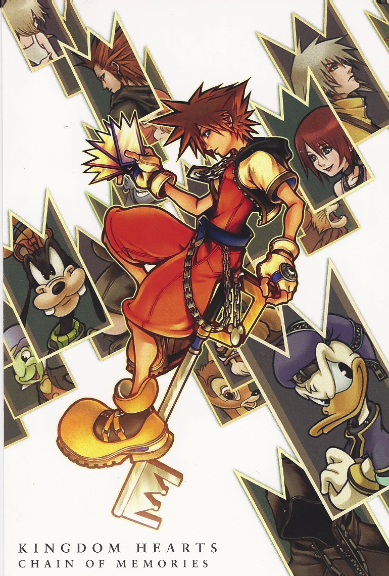 Image result for kingdom hearts chain of memories