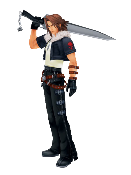 Image result for leon kingdom hearts