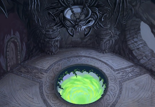File:Olympus Coliseum- Hades' Chamber (Art) KHII.png
