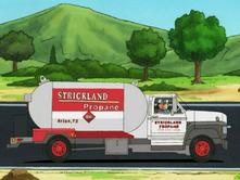 Strickland Propane Truck