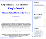 King's Quest V - The Text Adventure