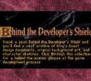 Behind the Developer's Shield
