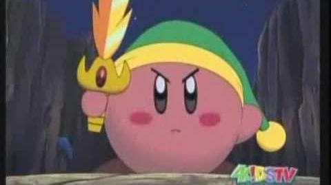 Kirby's Epic Galaxia Sword Fight - 4kids vs original Japanese