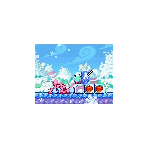Noserunt Hielo utilizando su aliento de hielo.