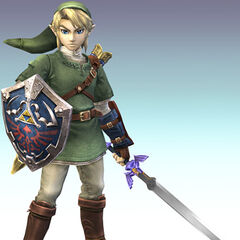 Link en Super Smash Bros Brawl