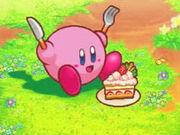 Kirby y su querida tarta.jpg