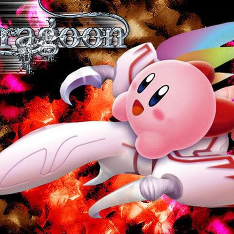 Kirby en el Dragoon