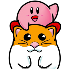 Artwork de Kirby y <a href=