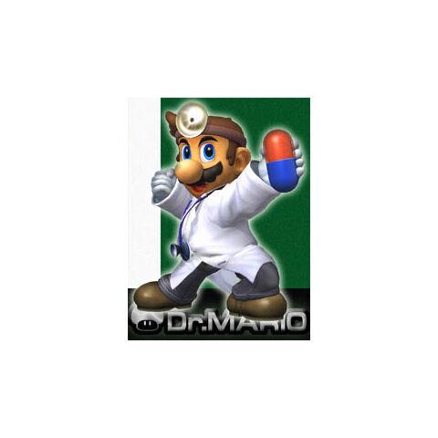 Arte de Dr. Mario en <a href=