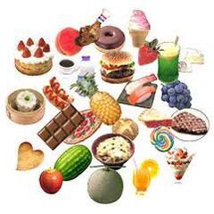 comida variada