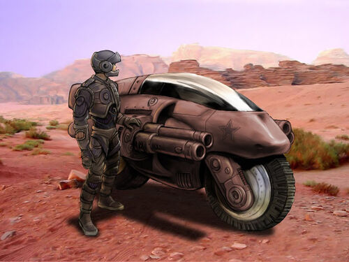 Infiltrator Concept Bike Color