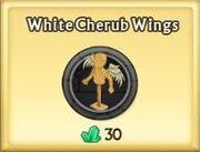 White Cherub Wings
