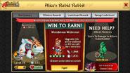 Alice's Rabid Rabbit Level 15 Stats