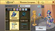Demon's Carapace Female 1