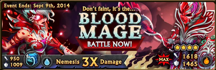 Blood Mage Banner