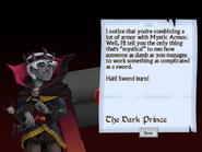 Twelfth Letter from the Dark Prince