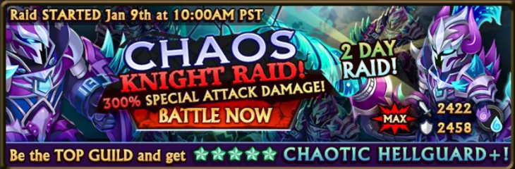 Chaos Knight Banner