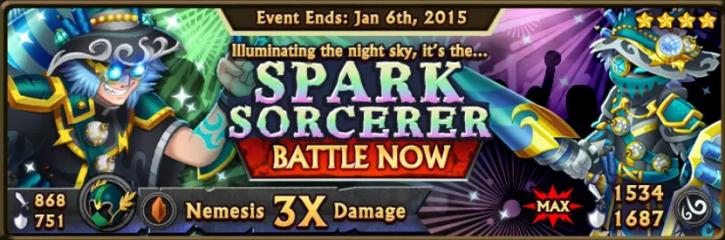 Spark Sorcerer Banner