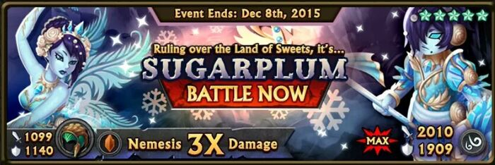 Sugarplum Boss Banner