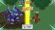 Wrath Demon Battle