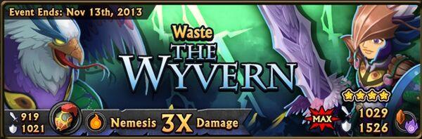 Wyvern banner