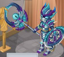 Demon's Carapace Female evo 3 close