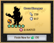 Orcus Blazegear Crafting