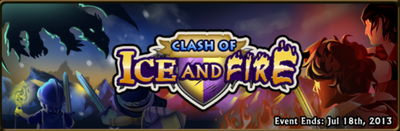 Clash of ice and fire banner