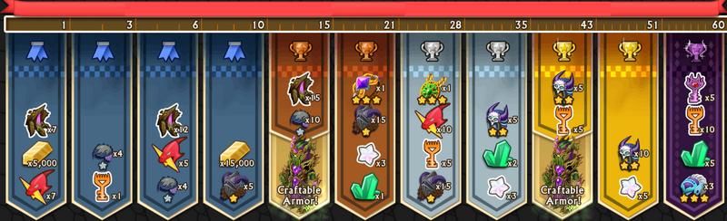 Ailm's Rewards 1-60