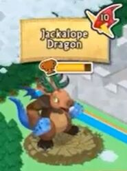 Jackalope Dragon on the map