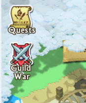 Guild War icon on map