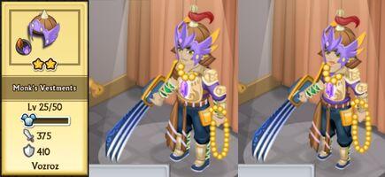 Monk's Vestments Evolution 2