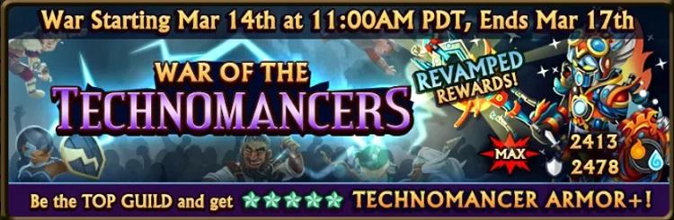 War of the Technomancer Banner