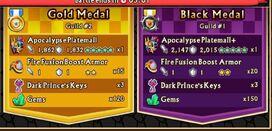 Apocalypse blk & gold rewards