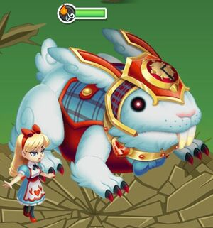 Alice's Rabid Rabbit Boss