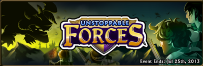 Unstoppable forces banner