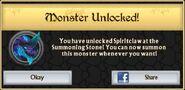 Spiritclaw Monster Unlock