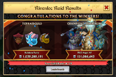 Winners of the Rivenloc Raid iOS