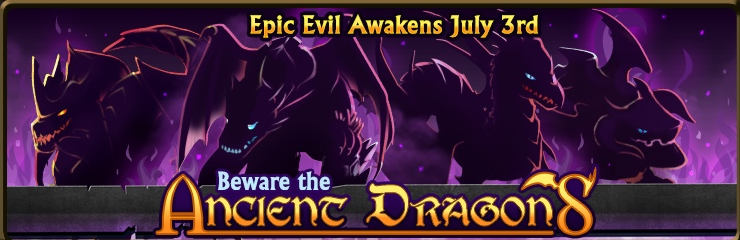 Ancient dragons banner