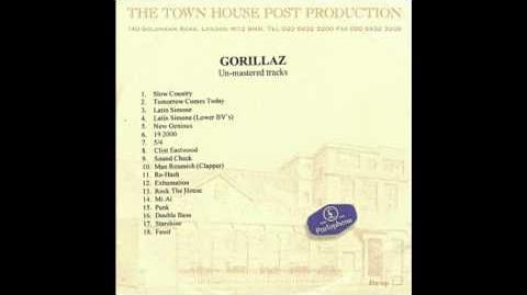Gorillaz - Rock The House (Instrumental) (Unmastered)