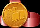 Kong 5th anniversary medal