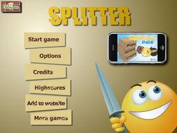 Splitter-title-screen