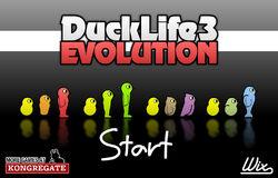 Duck Life 3 title screen
