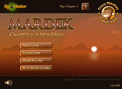 MARDEK Chapter 2 Title