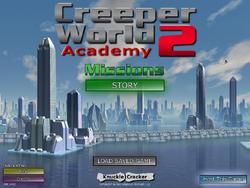 Creeper-World-2-Academy-title-screen